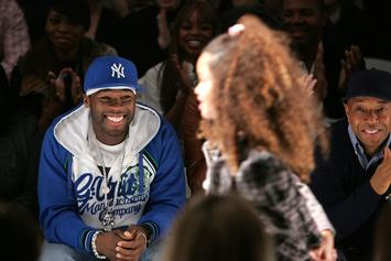 """50 Cent Takes Aim At Black Teen Who Thinks She's White With """"Batman Mouth"""" Photo"""