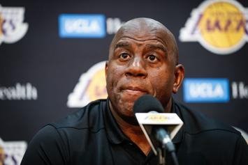 "Magic Johnson ""Admonished"" Luke Walton After Winless Two-Game Trip: Report"