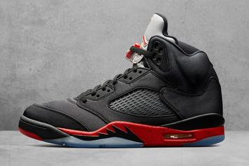 "Air Jordan 5 ""Black Satin"" Makes Retail Debut This Weekend"