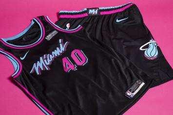 "Miami Heat Unveil New ""Vice City"" Uniforms"
