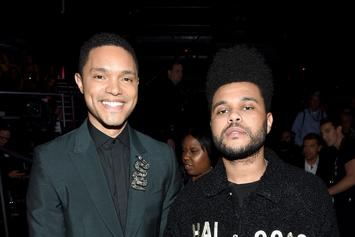 "The Weeknd Shares Photo With His ""Real Life Twin"" Trevor Noah"