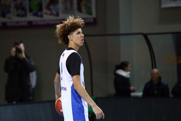 LaMelo Ball Billboard Pops Up In Downtown Cleveland