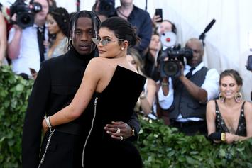 Kylie Jenner Rocks A Ring On Her Wedding Finger At Travis Scott's Concert