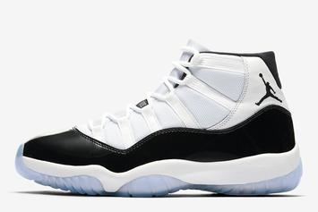 """Air Jordan 11 """"Concord"""" Official Images Revealed"""
