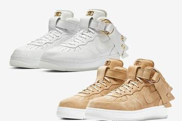 Victor Cruz x Nike Air Force 1 Mid Releasing Again Via Nike SNKRS