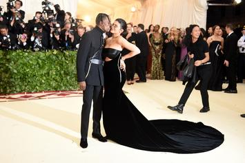 """Travis Scott Shouts Out """"My Beautiful Wife"""" Kylie Jenner During Houston Concert"""