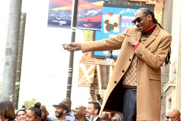 """Snoop Dogg Thanks Himself During Walk Of Fame Speech As A """"Bad Motherf*cker"""""""