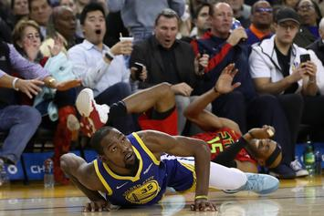 OKC Thunder Hand Golden State Warriors Their 4th Straight Loss
