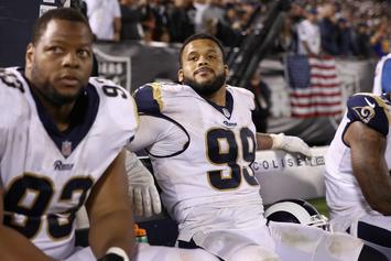 Rams' Aaron Donald Flexes Mega Contract With $250K Diamond Chain