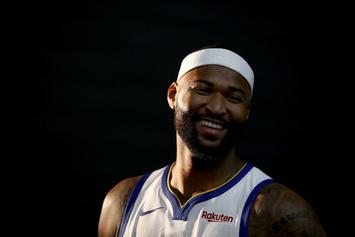"DeMarcus Cousins Eyeing Return ""Sometime After Christmas"": Report"