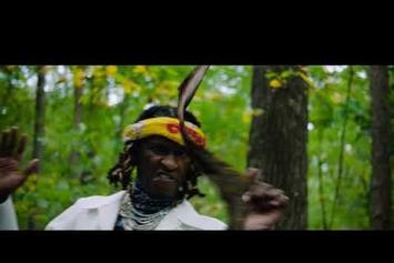 """Young Thug, Lil Baby & Gunna Explore A Trippy Forest In """"Chanel"""" Music Video"""