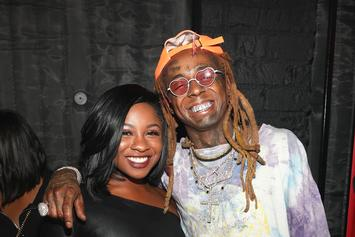Reginae Carter Posts Adorable TBT Photo As A Baby In Lil Wayne's Arms