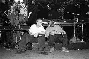 """Royce Da 5'9"""" & Eminem Are """"Bad Ass Lil Back Packers"""" In Throwback Photo"""