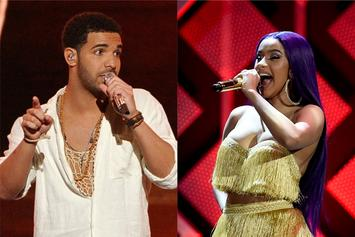 """Drake & Cardi B Awarded With Huge Honors On Apple Music's """"Best Of 2018"""""""