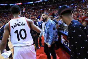 Drake Given DeMar DeRozan's Old Raptors' Locker: Photo