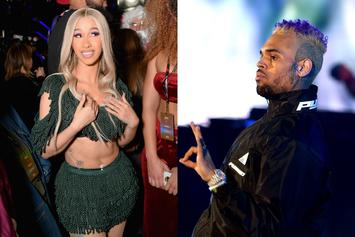 Chris Brown Plans To Shoot His Shot At Cardi B According To Source