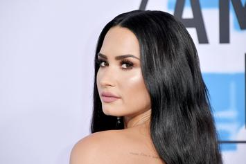 "Demi Lovato Pictured Kissing ""Sober Companion"" Henry Levy"