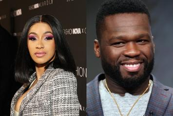 """50 Cent Posts Up On Cardi B's IG: """"Cute Outfit But You Gotta Go Home"""""""