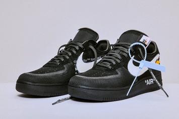 Off-White x Nike Air Force 1 Low Releasing In Sizes For The Whole Fam