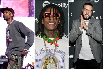Travis Scott, Wiz Khalifa & French Montana Preview Upcoming Song: Listen