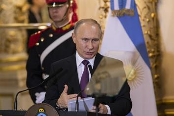 """Vladimir Putin Says Rap Should Be """"Controlled,"""" Not Banned In Russia"""