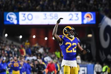 "Rams' Marcus Peters Confronts Heckler: ""Talk That Sh*t Now"": Video"