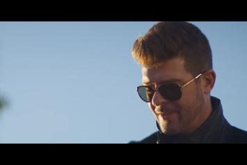 "Robin Thicke Delivers Laid Back Visuals For ""Testify"""