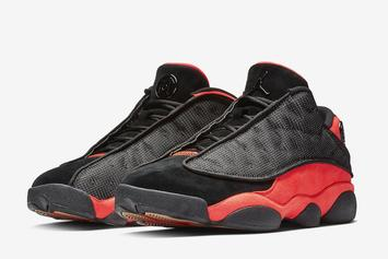 "CLOT x Air Jordan 13 Low ""Infra Bred"" Revealed"