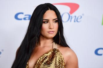 "Demi Lovato Upset By Rumors: ""I'm Happy & Clean"""