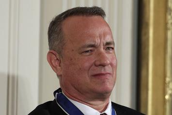Tom Hanks' Newest Role: In N' Out Santa Claus