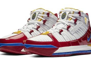 "Nike Zoom LeBron 3 ""Superman"" PE Slated For January Release"