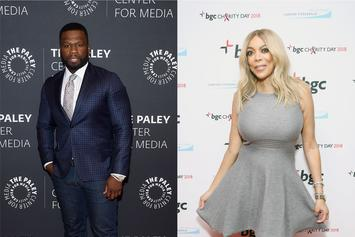 """50 Cent Shares Wendy Williams' """"Before & After Make-Up"""" Photos"""