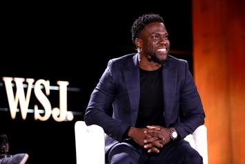 """Kevin Hart Gifts His Boys With Classic Cars To Celebrate End Of """"Irresponsible Tour"""""""