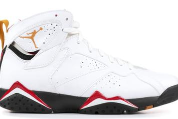 "0f187970d56fbd Air Jordan 7 ""Cardinal"" Returning With New Reflective Detailing · SNEAKERS"