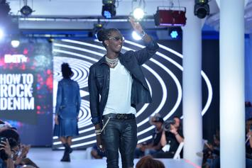 Young Thug Teases New Music In The Studio