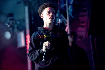 Rapper Lil Mosey Gets His Chains Snatched On Camera
