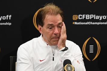 Nick Saban Takes Blame For Alabama's Botched Fake Field Goal