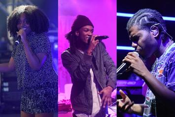 """Noname, Saba, And Smino Form A Trifecta On """"The Tonight Show"""""""