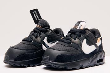 Off-White x Nike Air Max 90s Releasing In Sizes For The Whole Fam