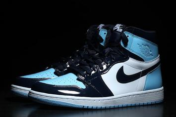 "Air Jordan 1 High OG ""UNC"" Patent Leather Releasing In Women's Sizes Only"