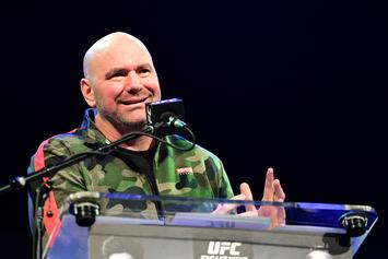 """Dana White Says Tom Brady Is """"Shoving It Up The Haters' A**es"""""""