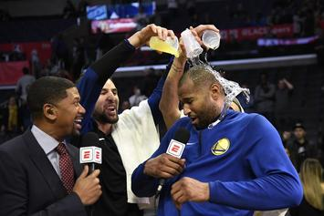 "DeMarcus Cousins Fouls Out In Warriors' Debut : ""I'm Just Glad I Can Still Dunk"""