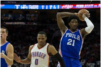 Russell Westbrook's Rivalry With Joel Embiid Gets Personal