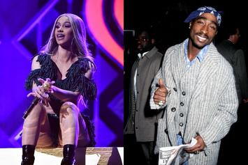 """Suge Knight Labels Cardi B """"Tupac In A Skirt,"""" Pitches """"Bardi x Makaveli"""""""
