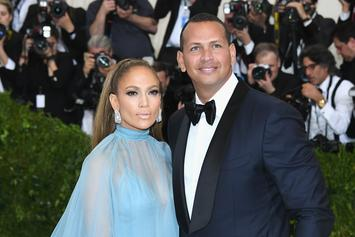 """A-Rod Says He's """"Meant To Be"""" With Jennifer Lopez On Two Year Anniversary"""