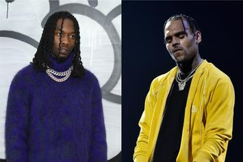 "Offset Scolds Chris Brown Over 21 Savage Meme: ""Ain't Funny Lame"""