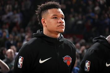 Knicks' Kevin Knox Replacing Lonzo Ball In Rising Stars Challenge