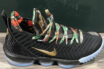 """Nike LeBron 16 """"Watch The Throne"""" Unveiled: First Look"""