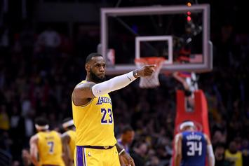 LeBron James Denies Pushing Lakers To Make Trades
