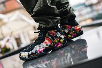 "Nike Air Foamposite One ""Floral"" Coming Soon: On-Foot Images"